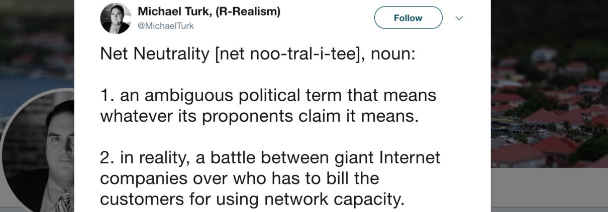 Net Neutrality Tweet