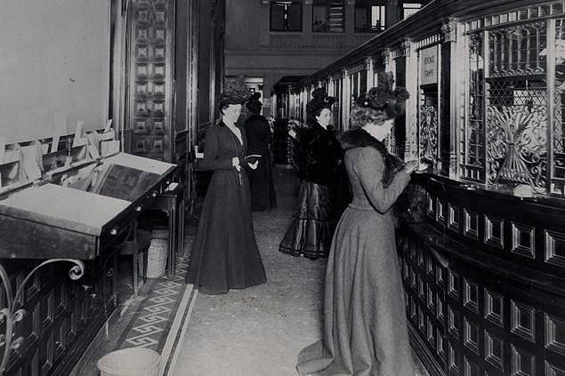Fifth Avenue Bank, NY 1900